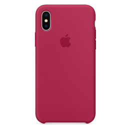 FUNDA DE SILICONA ROSE RED